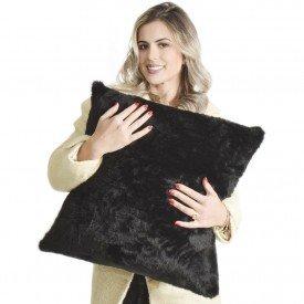 almofadas cor preta