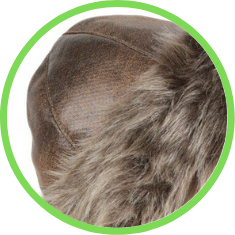 gorro tradicional pele sintetica pele sul